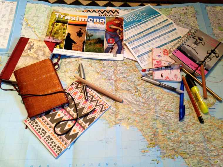 WP - notebooks & map