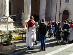 Palm Sunday in Assisi